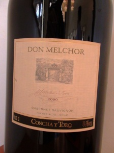 Don Melchor 2000 - supreme wine