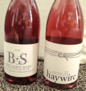 Haywire & BS rose