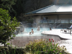 Hot Spring pool for the family