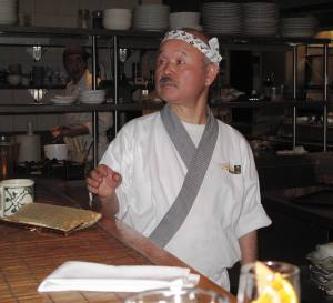 Tojo - Canada's most famous Japnese chef