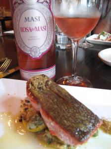 Rosa dei Masi & salmon