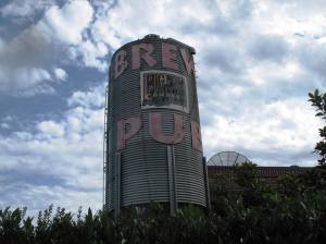 Brew Pub tower