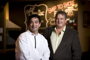 Chef Daryle Nagata and Paul