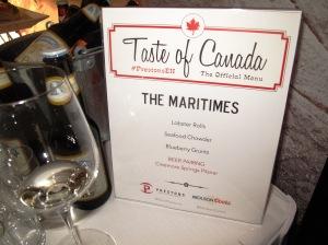 Taste of Canada - Maritime