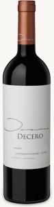 2010 Decero malbec-bottle