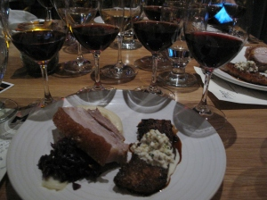 Pork due + 4 Pinot Noir