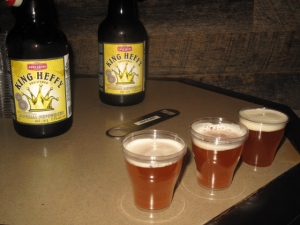 King Heffy draft beer
