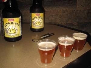 King Heffy draft beer