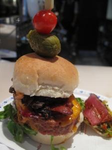 Milestone's burger