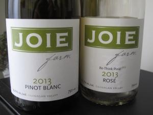 Joie - pinot blanc & rose