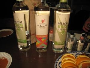 Mezcal wines