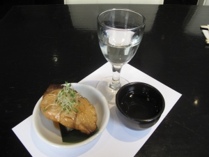Crispy cold sake for divine food pairing