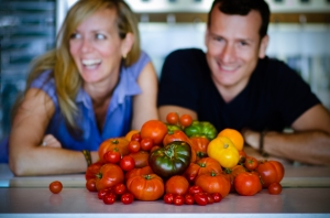 Jean-Francis & Alexandria team up with wholesome tomatoes