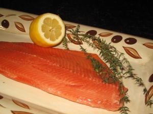 Summer BBQ - salmon