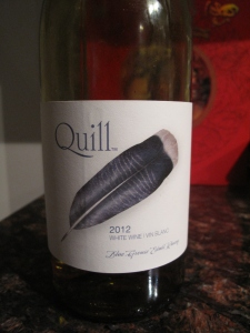 Blue Grouse Quill 2012 White Wine