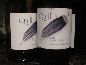Quill 2012 red