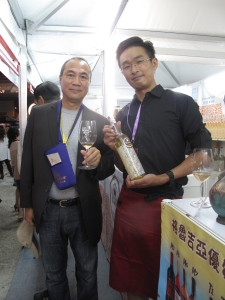 Henry & plum winemaker Wing Yau