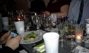 wine-pairing dinner