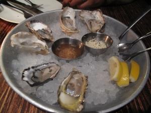 $15 half dozen oysters