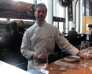 Chef Chris Mills of Joey's