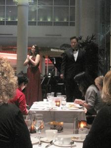 Opera performing